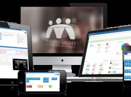 aplicacion web puentes salud