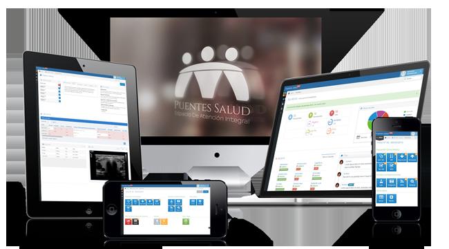 puentes salud aplicacion web